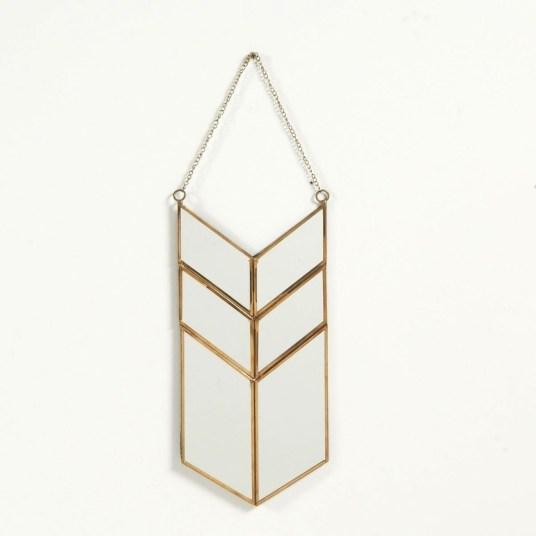 Où trouver des miroirs en laiton ? //// Hëllø Blogzine blog deco & lifestyle www.hello-hello.fr #miroir #laiton