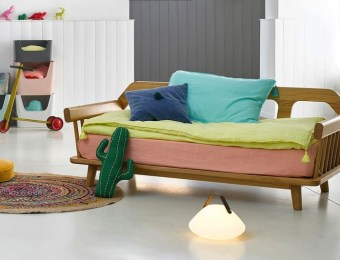 Banquette-lit Daybed style scandinave //// Hëllø Blogzine blog deco & lifestyle www.hello-hello.fr #daybed #banquette #gallina