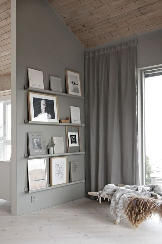Quand les meubles prennent la couleur des murs // Hëllø Blogzine blog deco & lifestyle www.hello-hello.fr