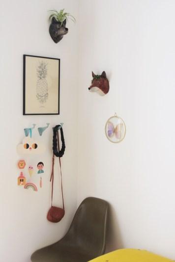 Appartement parisien rétro, Anne-Sophie Les Moustachoux // Hëllø Blogzine blog deco & lifestyle www.hello-hello.fr #retro #paris #vintage