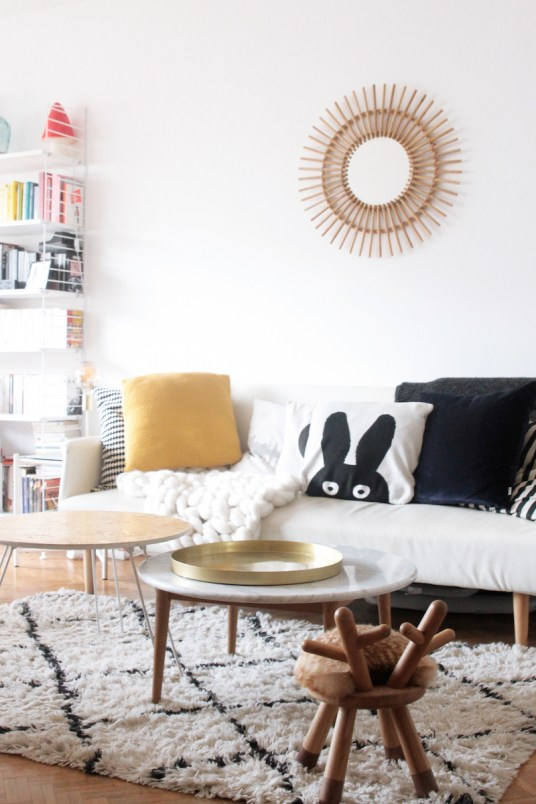 L'appartement parisien d'Azzed // Hëllø Blogzine blog deco & lifestyle www.hello-hello.fr #deco #scandinave #paris #hometour