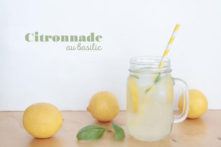 Délicieuse recette de citronnade au basilic // Hëllø Blogzine blog deco & lifestyle www.hello-hello.fr
