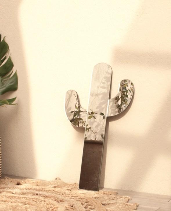 Miroir cactus déco murale // Hëllø Blogzine blog deco & lifestyle www.hello-hello.fr