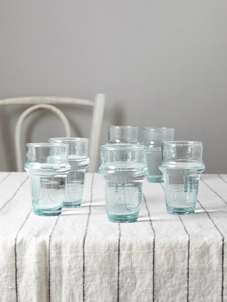 Des verres à thé marocain en guise de verre à eau - Cyrillus // Hëllø Blogzine blog deco & lifestyle www.hello-hello.fr