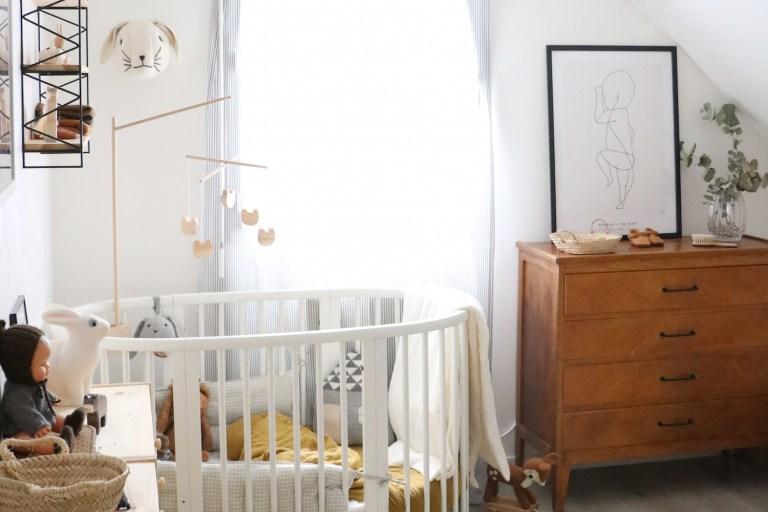 Chambre d\'enfant : la déco rétro et nature de Jude
