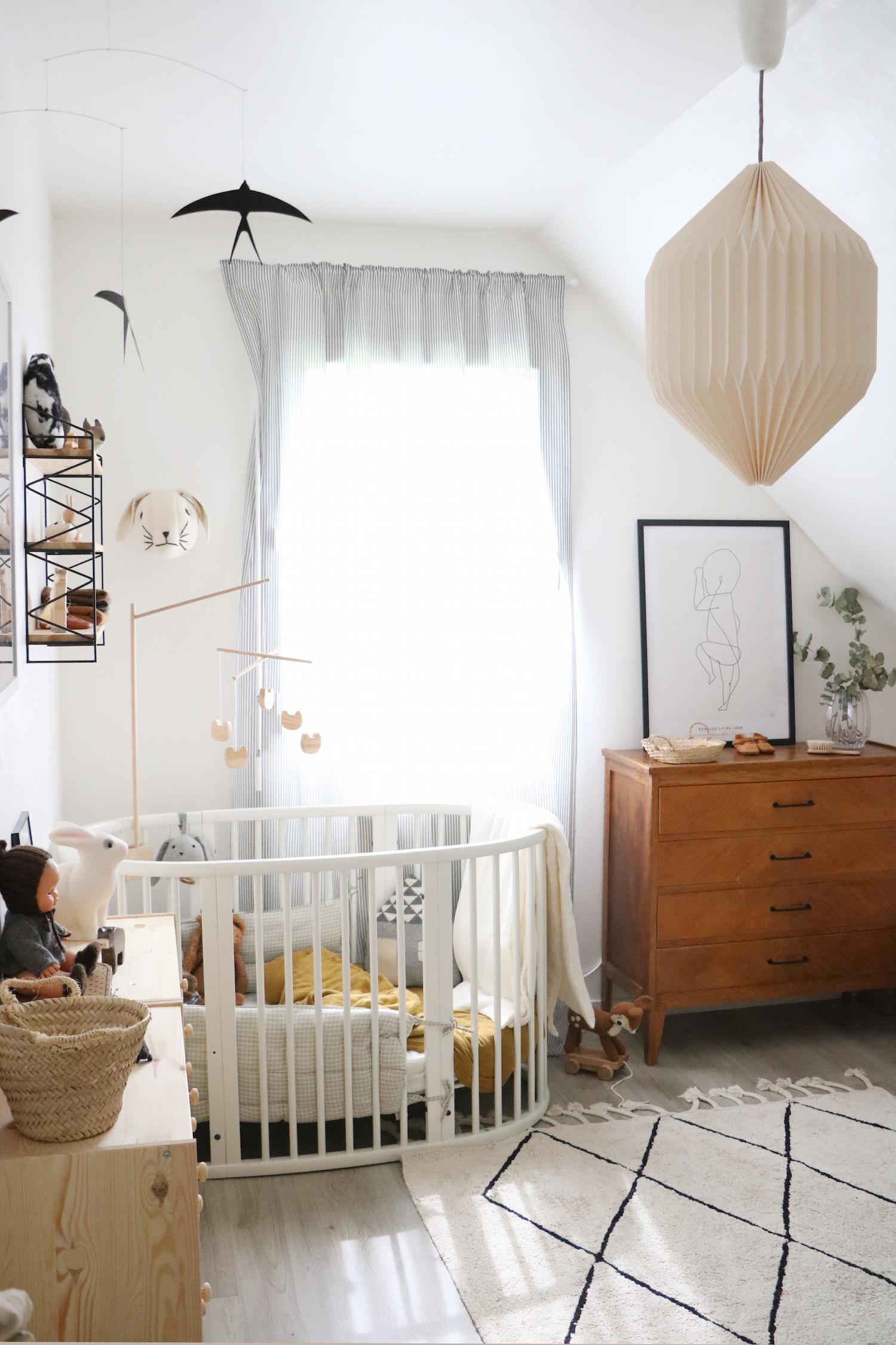 Chambre D Enfant La Deco Retro Et Nature De Jude