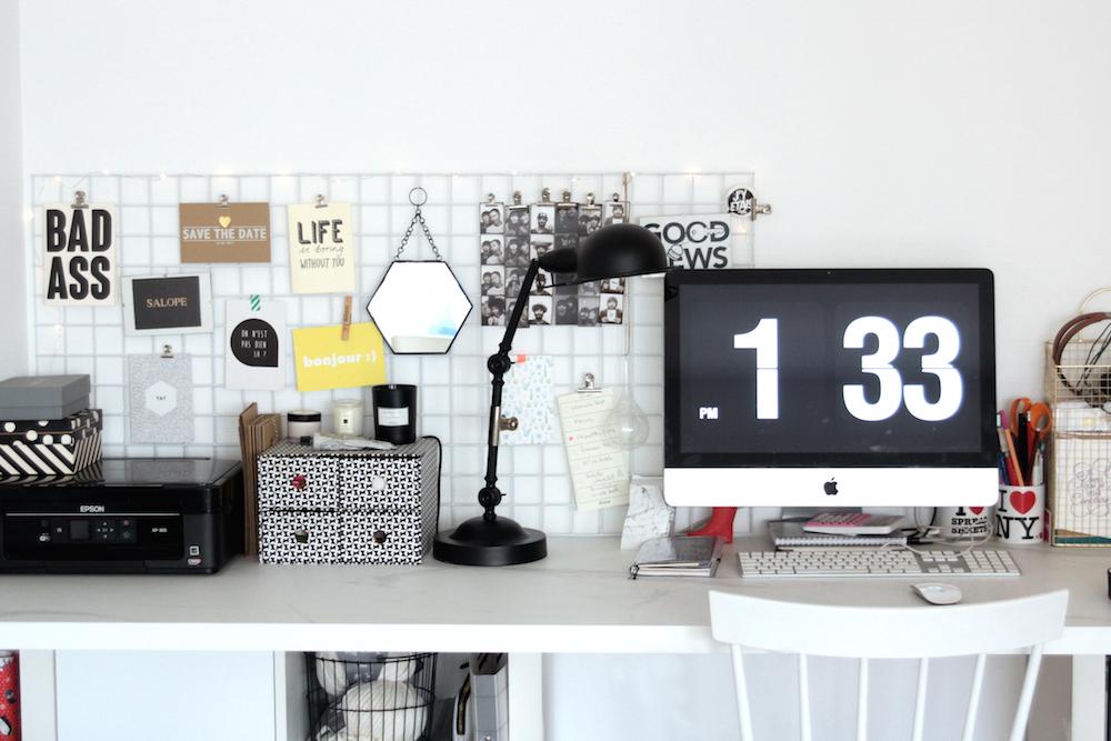 Les bonnes idées à piquer pour un bureau cosy à la maison
