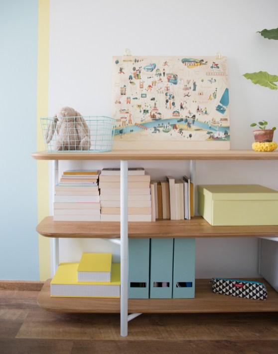 La chambre d'ado graphique de Jade, la fille de Miss Etc // Hëllø Blogzine blog deco & lifestyle www.hello-hello.fr