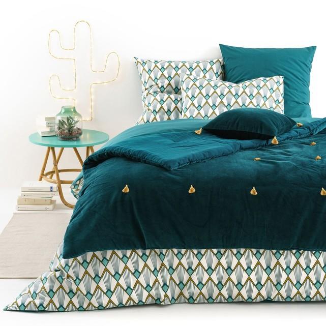 couvre lit la redoute jetee de lit jete de lit couette. Black Bedroom Furniture Sets. Home Design Ideas