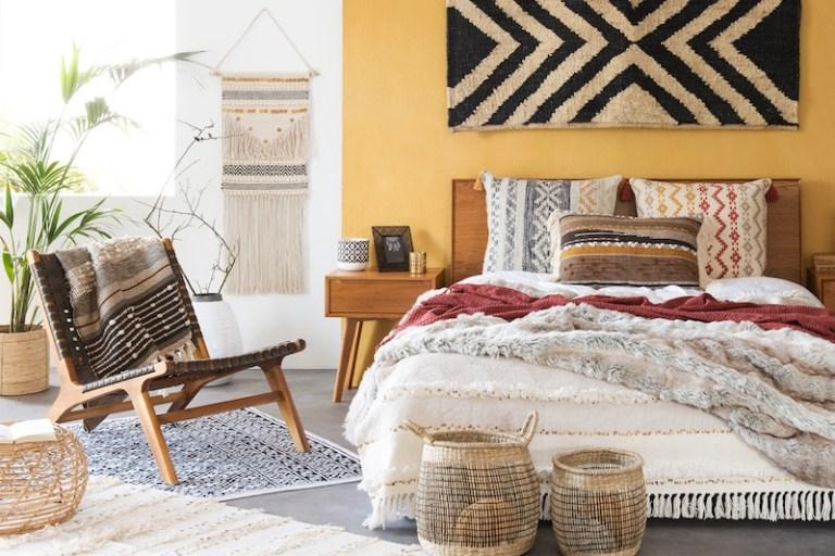 Un chambre cosy et boho