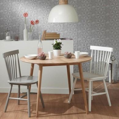 La chaise à barreaux scandinave vintage