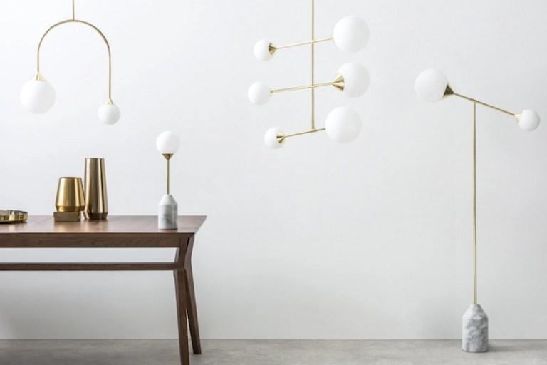 Où trouver des lampes avec un globe en forme de boule ?