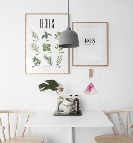Planches pédagogique herbes aromatiques style Deyrolle // Hëllø Blogzine blog deco & lifestyle www.hello-hello.fr