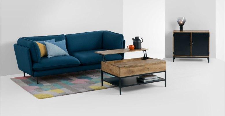 Table basse avec un rangement gain de place // Hëllø Blogzine blog deco & lifestyle www.hello-hello.fr