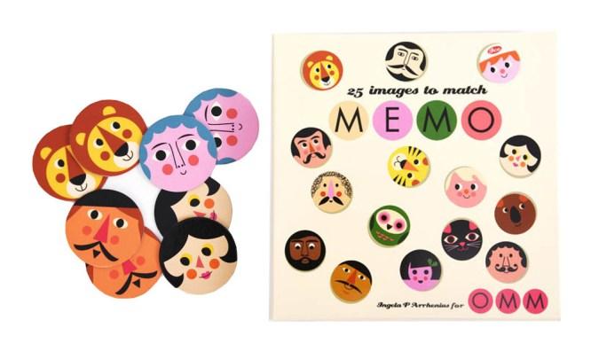 Memory - Idées cadeaux de noël enfants mixte // Hëllø Blogzine blog deco & lifestyle www.hello-hello.fr