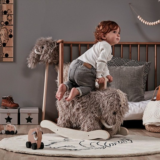 Mammouth à bascule design Fermob // Hellø Blogzine, blog déco lifestyle - www.hello-hello.fr