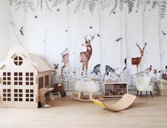 Où trouver des décors muraux et des papier-peint fresque - Les dominotiers chez Au Fil des Couleurs // Hëllø Blogzine blog deco & lifestyle www.hello-hello.fr