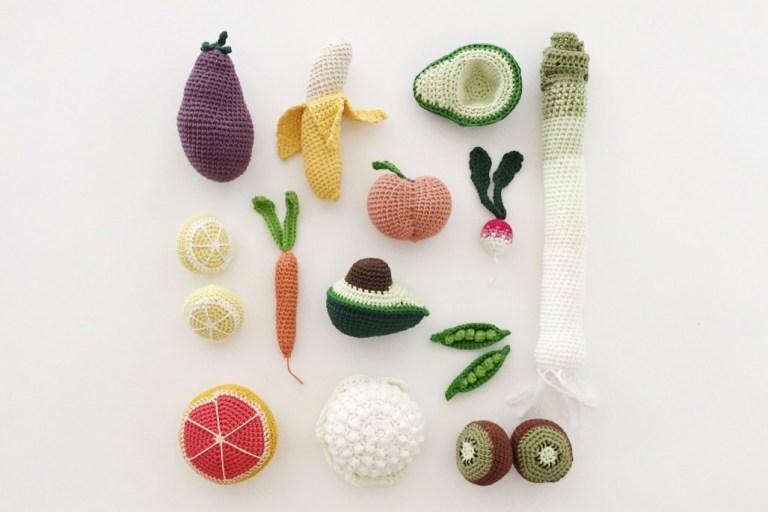 Fruits légumes et animaux en crochet // Hëllø Blogzine blog deco & lifestyle www.hello-hello.fr