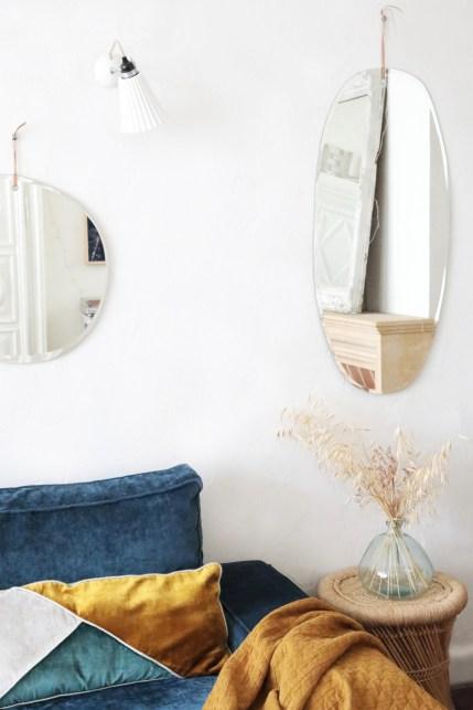 Les miroirs biseautés artisanaux M Nuance // Hëllø Blogzine blog deco & lifestyle www.hello-hello.fr