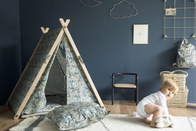 Tente enfant intérieur Smallable // Hellø Blogzine blog deco & lifestyle www.hello-hello.fr