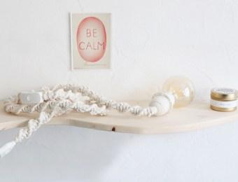 Créations en macramé Made In France, boutique Cotton Home sur Etsy // Hëllø Blogzine blog deco & lifestyle www.hello-hello.fr