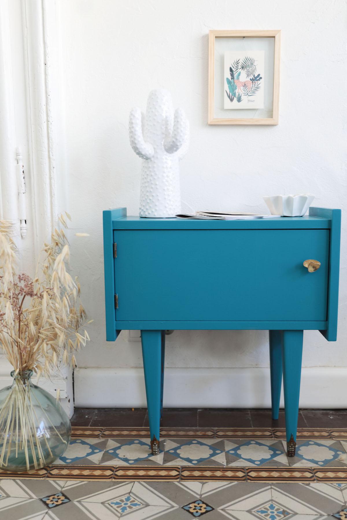 Peinture Meuble Sans Décapage repeindre un meuble vintage sans le décaper et sans sous-couche