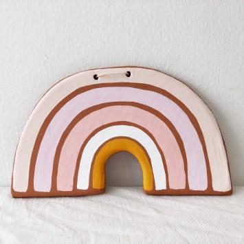Arc en ciel tendance déco chambre d'enfant// Hëllø Blogzine blog deco & lifestyle www.hello-hello.fr