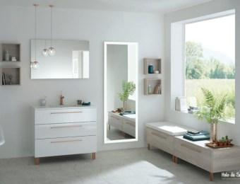 Créer une ambiance urban jungle dans la salle de bain // Hëllø Blogzine blog deco & lifestyle www.hello-hello.fr