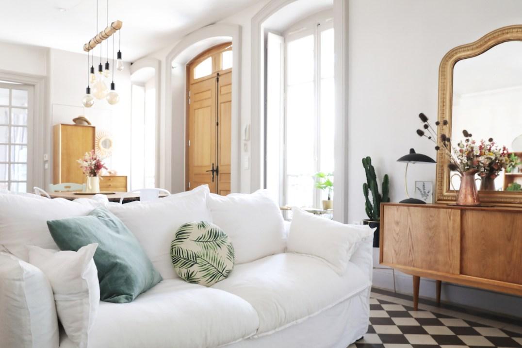 La maison de Coralie du Blog Elles en parlent qui a créé un intérieur rétro et délicat avec La Redoute Intérieurs // Hëllø Blogzine blog deco & lifestyle www.hello-hello.fr #myredoute #laredouteinterieurs