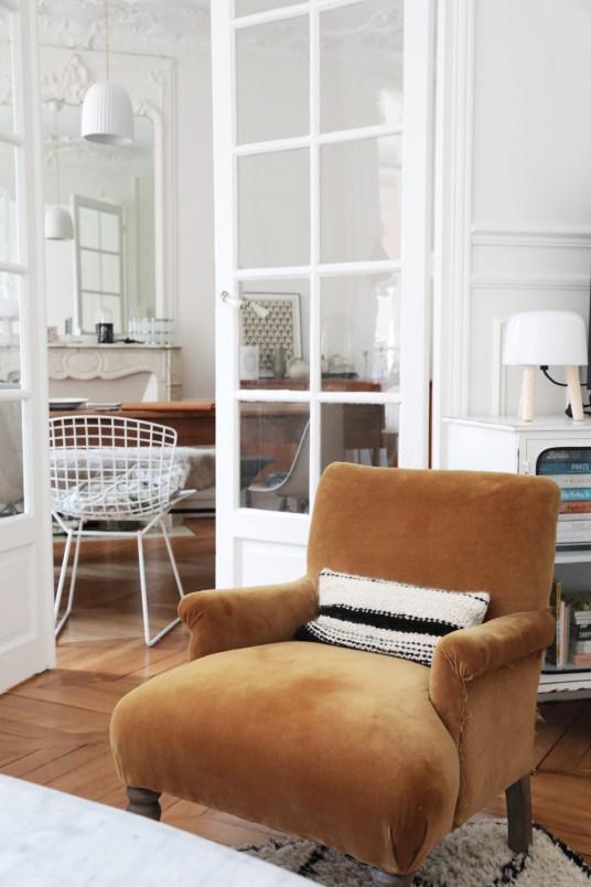 L'appartement haussmannien de Virginie, du blog Mes Petites Paillettes // Hëllø Blogzine blog deco & lifestyle www.hello-hello.fr