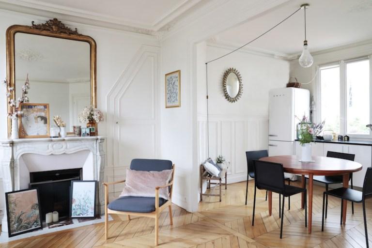 Appartement parisien arty et bohème // Hellø Blogzine blog deco & lifestyle www.hello-hello.fr