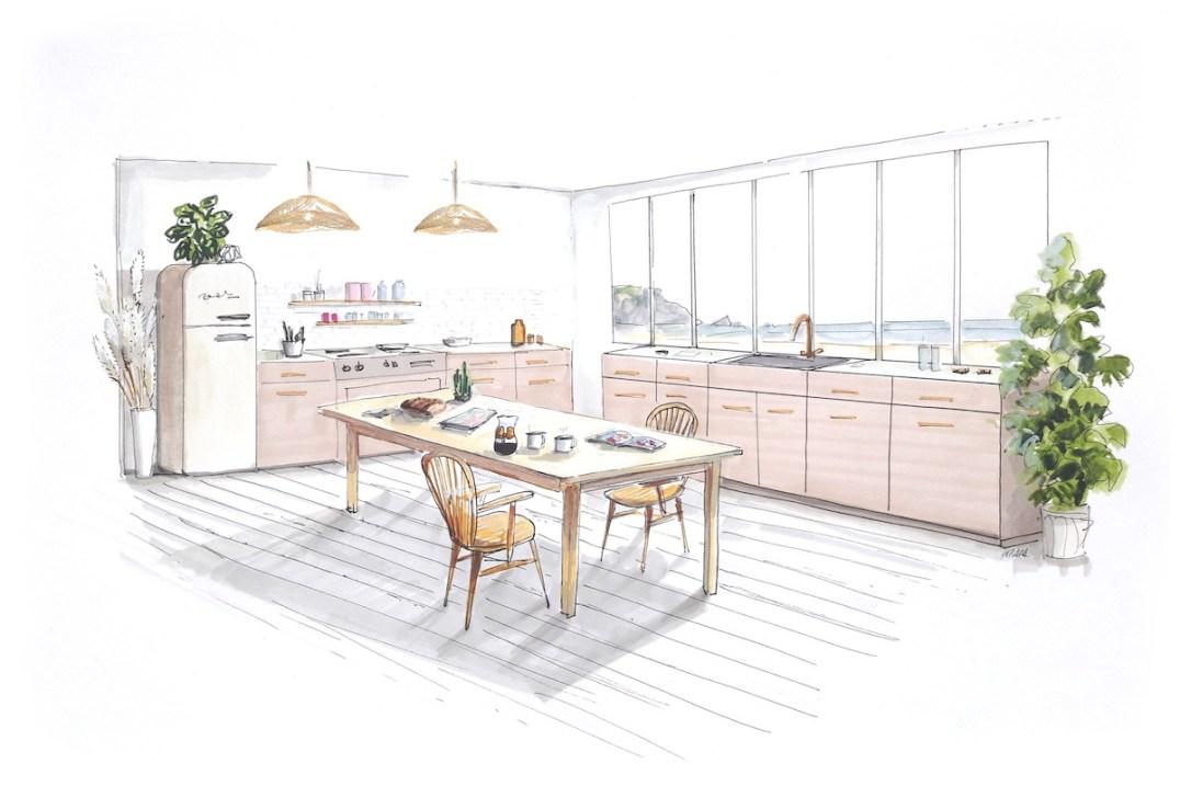 La cuisine Hellø Blogzine x Lapeyre