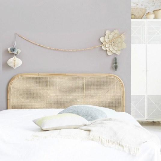 Où trouver une tête de lit en cannage / Cnnework rattan headboard // Hellø Blogzine- blog déco lifestyle - www.hello-hello.fr