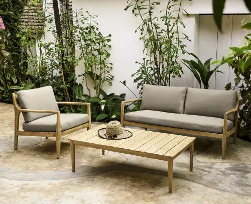 Du beau mobilier de jardin en bois - Outdoor wood furniture // Hellø Blogzine blog deco & lifestyle www.hello-hello.fr