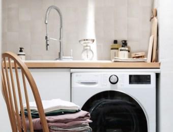 Lave linge grande capacité, Turbowash360, LG // Hellø Blogzine blog deco & lifestyle www.hello-hello.fr