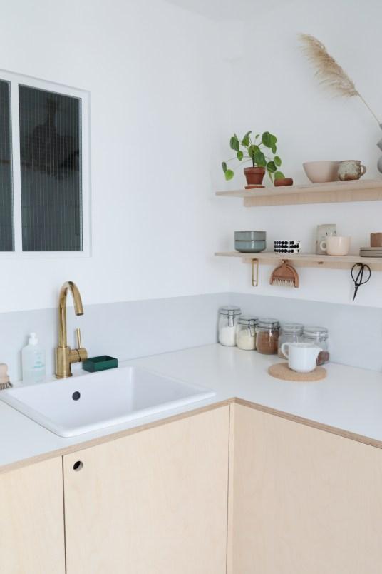 Comment réaliser une cuisine en contreplaqué// Hellø Blogzine blog deco & lifestyle www.hello-hello.fr