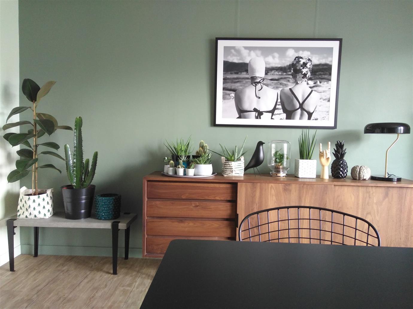 Le vert de gris, la couleur facile à vivre et tendance pour un intérieur déco