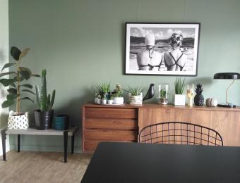 Du vert de gris pour une déco tendance // Hëllø Blogzine blog deco & lifestyle www.hello-hello.fr