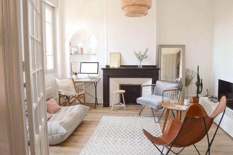 Bienvenue dans l'appartement doux et poétique de chez Studio Aime à Toulouse // Hëllø Blogzine blog deco & lifestyle www.hello-hello.fr