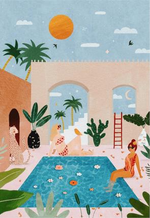 Les illustratrices qui ont la côte sur Instagram // Hëllø Blogzine blog deco & lifestyle www.hello-hello.fr