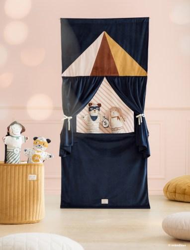 Déco en velours recyclé, éco velvet pour la chambre des enfants - Nobodinoz // Hellø Blogzine blog deco & lifestyle www.hello-hello.fr