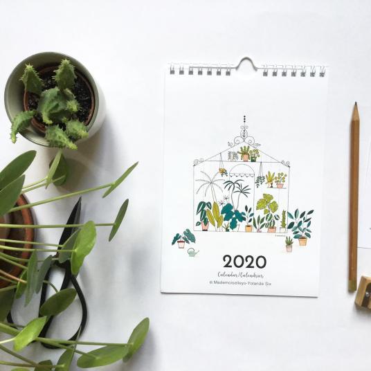 Calendriers 2020 // Hellø Blogzine blog deco & lifestyle www.hello-hello.fr