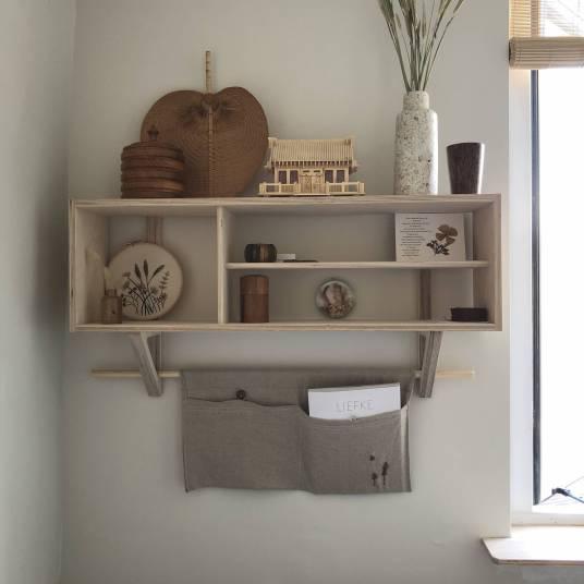 Get the look : l'intérieur scandi-broc de Suzanne Pardijs // Hellø Blogzine blog deco lifestyle www.hello-hello.fr
