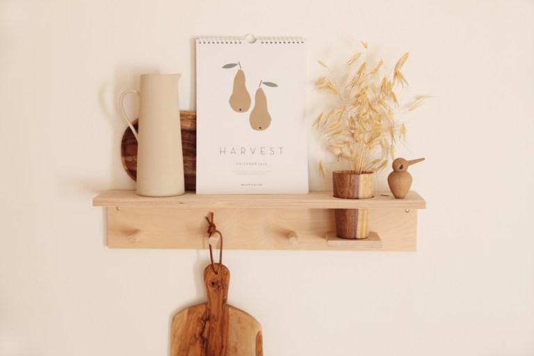 Etagère minimaliste Woodchuck // Hellø Blogzine blog deco & lifestyle www.hello-hello.fr