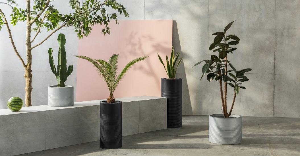 Sélection shopping pots et jardinières XL // Hellø Blogzine blog deco & lifestyle www.hello-hello.fr