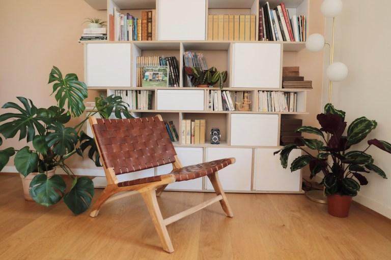 Fauteuil bas en cuir Kave Home // Hellø Blogzine blog deco & lifestyle www.hello-hello.fr