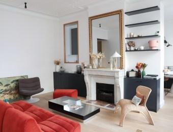 Visite privée de l'appartement parisien familial de Capucine, co-fondatrice de l'agence Gazette RP // Hellø Blogzine blog deco & lifestyle www.hello-hello.fr