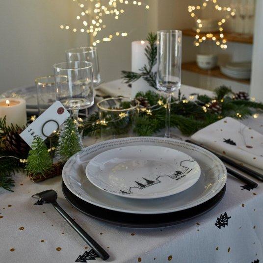 Déco table de fêtes Noël - Hellø Blogzine Blog déco lifestyle - www.hello-hello.fr
