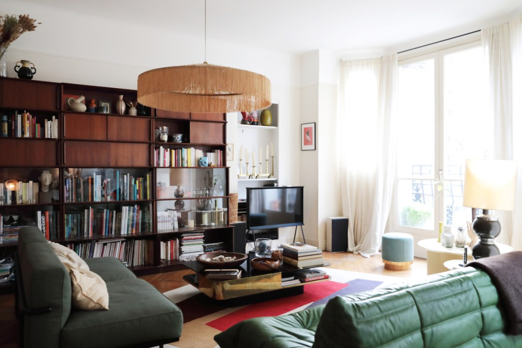L'appartement haut en couleurs de Violaine Belle-Croix, Rédactrice en chef de Marie-Claire Enfant // Hellø Blogzine blog deco & lifestyle www.hello-hello.fr