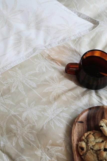 Les draps en percale de coton bio de Doran Sou // Hellø Blogzine blog deco & lifestyle www.hello-hello.fr